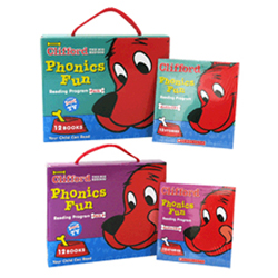 Clifford Phonics Fun Pack #1 + #2