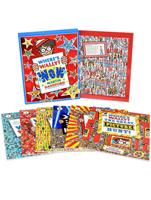 월리를 찾아라 Where's Wally? Wow 6 Books Box + 퍼즐 세트