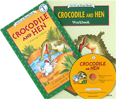 [I Can Read Book Level 1-29] Crocodile and Hen
