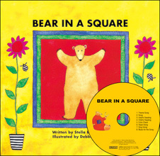 [My Little Library] Boardbook Set : Bear in a Square