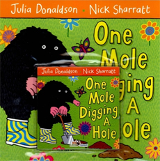 [My Little Library] Pre-Step : One Mole Digging A Hole