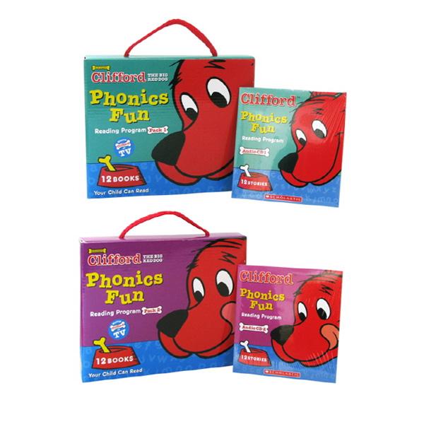 Clifford Phonics Fun Pack #1 + #2
