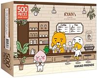 카카오프렌즈 직소퍼즐 500조각 : 라이언스 카페 이미지