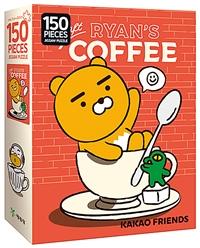 카카오프렌즈 직소퍼즐 150조각 : 크래프트 커피 이미지